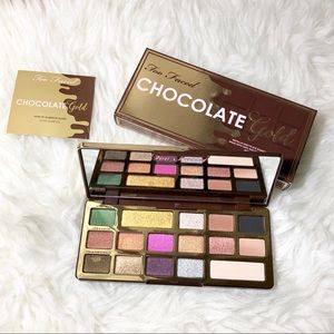 NIB Too Faced Chocolate Gold Eyeshadow Palette